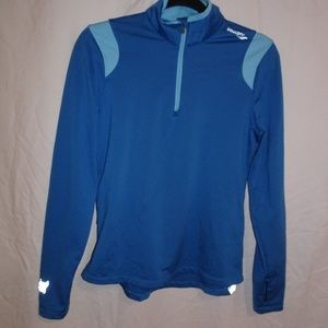 Saucony Womens Light-Weight 1/4 Zip Athletic M